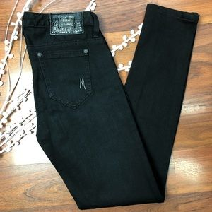 Guess by Marciano black skinny jeans. Size 24